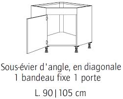 meuble d angle bas pour cuisine dimension meuble d angle cuisine gallery of dimension bureau