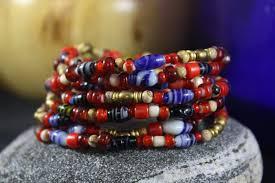european beads bracelet images Women 39 s beaded bracelet valentines bracelet red white hearts jpg