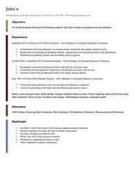 Sample Resume For Pharmacy Technician by Rn Resume Samples Http Exampleresumecv Org Rn Resume Samples
