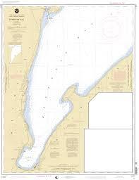 Lake Superior Map Keweenaw Bay Lake Superior Nautical Chart νοαα Charts Maps