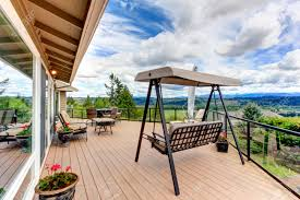 Firepit Swing by Screened Walkout Deck With Fire Pit Chais Bench And Garden