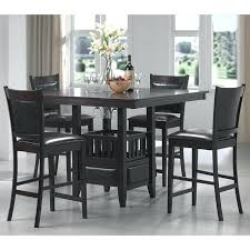 counter high dining room sets pub height bar furniture tables end