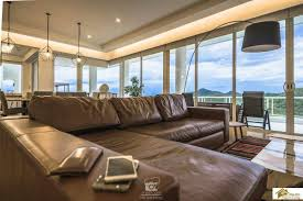 sea view living room hin 4 bed uninterrupted sea view penthouse with spacious living