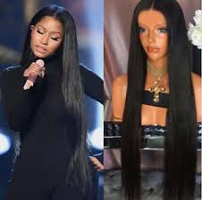 long black hair with part in the middle new 30 26in middle part black long sleek straight hair wig fashion