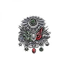 Ottoman Emblem Sterling Silver Coat Of Arms Of The Ottoman Empire Badge Rz14635