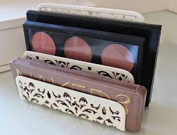 line up the makeup makeup storage ideas