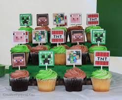 minecraft cupcake ideas pirate cupcake topper