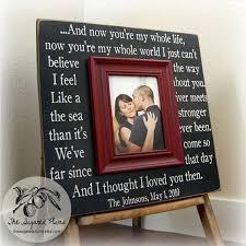 wedding gift custom wedding frame unique wedding gift