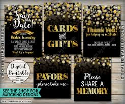 30th surprise party invitations birthday party invitation black u0026 gold birthday invite 30th 40th
