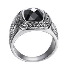 bvlgari man rings images The rings for women and men unisex jewelry silver ring black chain jpg