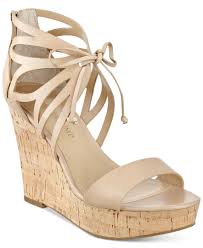 ivanka trump hopela wedge sandals lyst