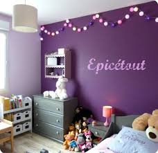 chambre grise et mauve idee deco chambre bebe fille et gris mauve decoration murale