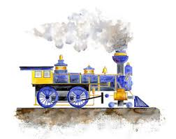 Train Decor Train Nursery Etsy
