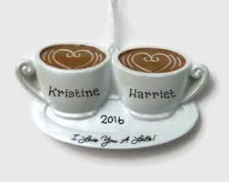 coffee ornaments etsy