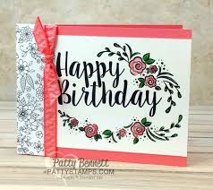 big on birthdays stampin u0027 up card set patty u0027s stamping spot