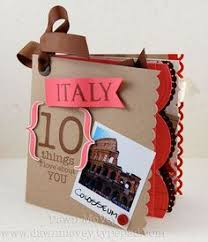 italy photo album customs world collection italy cardstock stickers travel