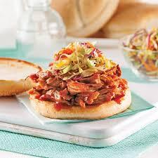 porc cuisine porc effiloché à la sauce barbecue recettes cuisine et