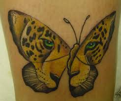for unique color tattoos tattoos tiger butterfly