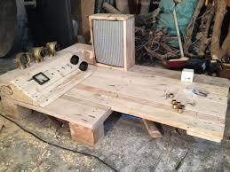 steampunk furniture steampunk pallet desk with server part 1 pallet furniture