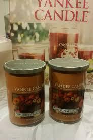 yankee candle large 22 oz pumpkin wreath christmas decor giftable