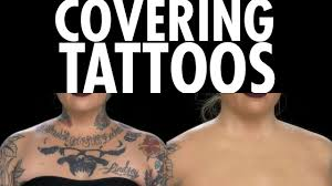 how to covering tattoos with lock it kat von d beauty youtube