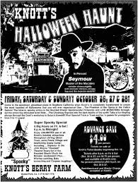 vintage halloween cartoons o c history roundup knott u0027s first halloween haunt 1973