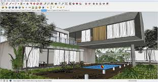sketchup texture awesome free sketchup model concrete block house
