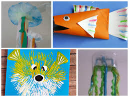 20 sea animal crafts there u0027s just one mommy
