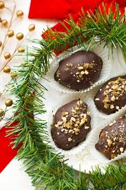 chocolate covered melomakarona greek honey walnut cookies the