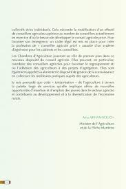 conseiller agricole chambre d agriculture situation de l agriculture marocaine pdf