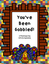 you ve been gobbled a thanksgiving gift passing tpt