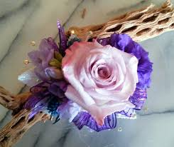 purple corsage lavender and purple wrist corsage in las vegas nv windmill
