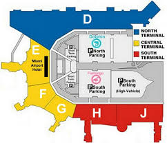 Phoenix Airport Map by Mia Airport Map Map Miami Airport Florida Usa
