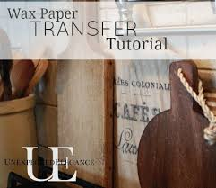 printable wax paper transfer images using wax paper tutorial