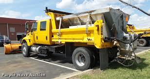 2004 international 7400 crew cab dump truck item cc9149