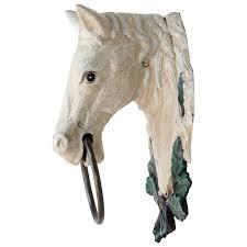 Haus Garten Kaufen Pferdekopf Gusseisen Schimmel Pferd Handtuchhalter Handtuch Halter