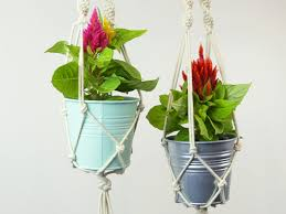 Diy Hanging Planters by These Diy Hanging Planters Are The Perfect Way To Exercise Your