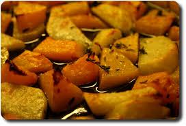 cuisiner le potimarron au four butternut et pommes de terre au four savoirs et saveurs