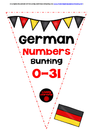 french numbers 0 31 bunting banners by livelylearning teaching