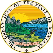 Michigans State Flag Montana State Usa