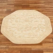 wellington super soft nylon octagon rug