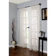 decor cream grommet curtains with dark extra long curtain rods