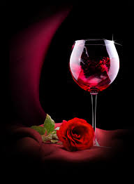 roses flowers roses flowers and goblets 52635 drinks food