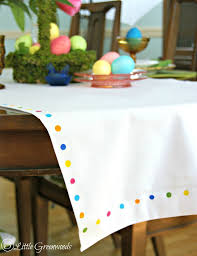 make your own table runner make your own no sew table runner for easter