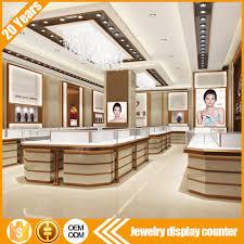 cheap price custom high end luxury retail store jewellery showroom