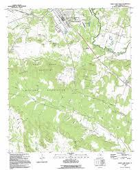 Killeen Texas Map North Fort Hood Topographic Map Tx Usgs Topo Quad 31097c6