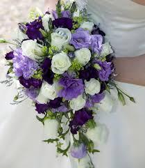 purple bouquets purple bouquet wedding casadebormela