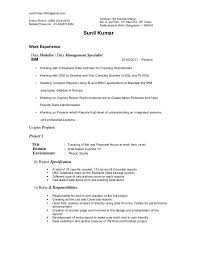 Software Testing Resume Manoj Resume