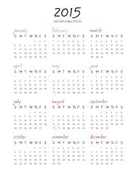 printable calendar year on one page calendar 2015 yearly printable gidiye redformapolitica co