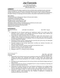 Financial Controller Resume Examples by Confidential Controller Resume